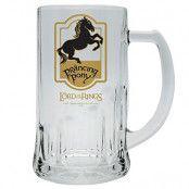 Sagan Om Ringen Ölglas Prancing Pony
